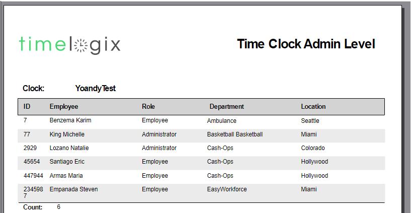 Time Clocks – Timelogix